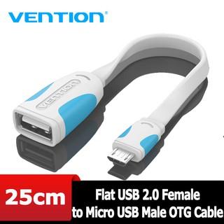 [Mã ELFLASH5 giảm 20K đơn 50K] USB - Cáp USB OTG Vention, dài 25Cm VAS-A09-W025