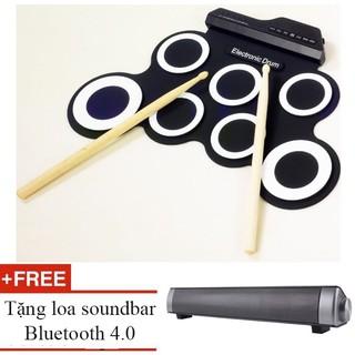Trống điện tử Electronic Drum Portable tặng loa Bluetooth 4.0 – King's Garden