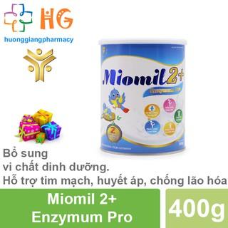 Sữa Miomil Enzymum Pro - Bổ sung dinh dương cho trẻ biếng ăn, chậm lớn, hấp thụ kém, táo bón, rối loạn tiêu hóa (H 400g) thumbnail