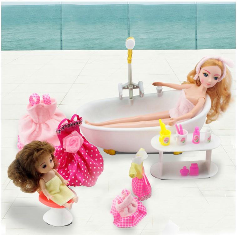 Đồ chơi mô hình - Phóng tắm cho búp bê