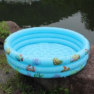 Bể bơi tròn 3 tầng 1m3, 1m5