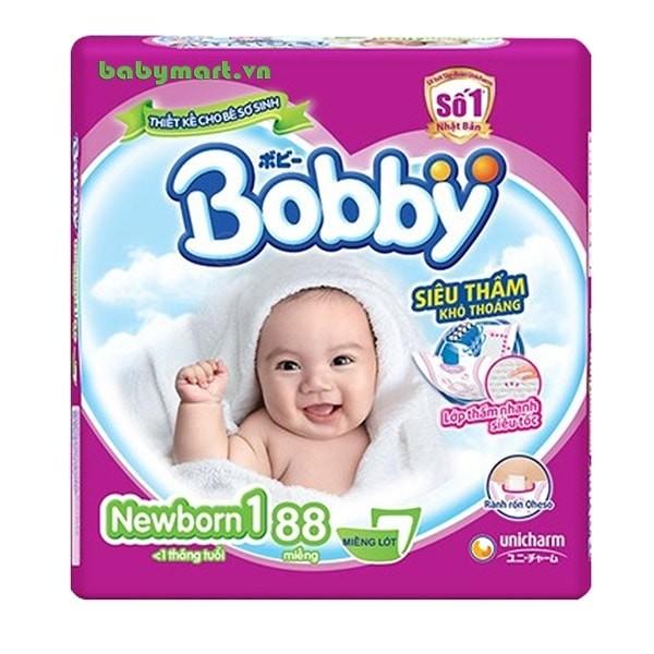 Miếng lót Bobby Newborn 1 88 miếng TA005