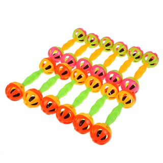 Baby Baby Toy Rattles Bells Shaking Dumbells Early Development Toys 0-12 Months