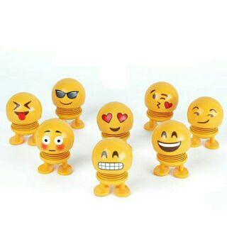 Thú nhún Emoji lò xo ( có hộp )