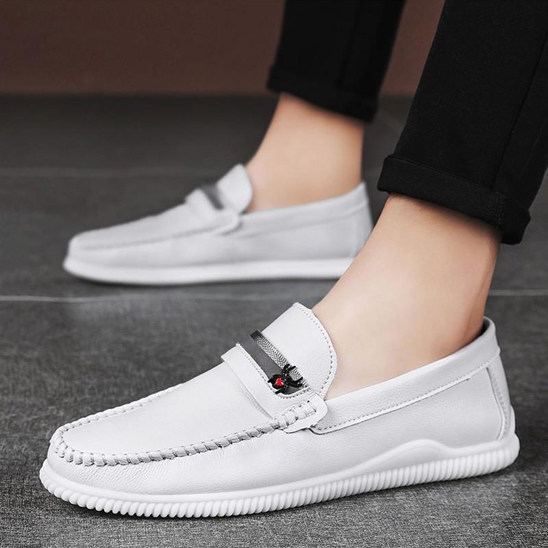 Giày Lười Đế Mềm Phong Cách Thời Trang Anh Quốc 2020 Cho Nam