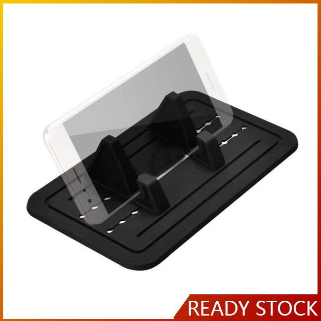 Car Silicone Pads Car Pad Holder Cell Phone Mount Cradle Dock for Smartphones, GPS, Glasses