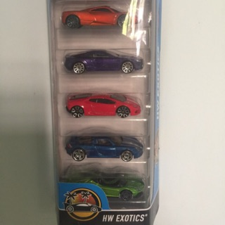 Pack 5 Hot Wheels !