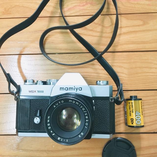 Máy ảnh film Mamiya MSX1000 ( chỉ máy không bao gồm lens)