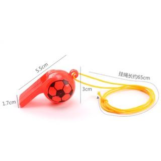 Còi thể thao có dây buộc - Còi trọng tài thể thao bằng nhựa nhiều màu sắc 2