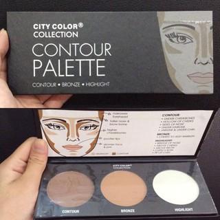 Phấn Tạo khối 3 ô City Color Contour Effects thumbnail
