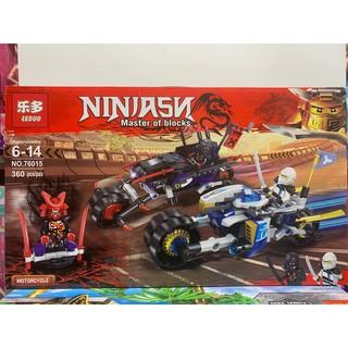 Đồ chơi xếp hình lắp ghép lego LEDUO Ninjasu 76015