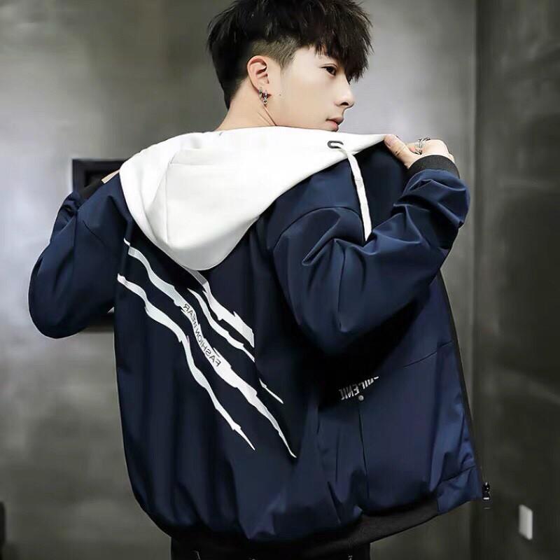 Áo khoác dù nam đẹp vải hai lớp thời trang Hàn Quốc | Áo khoác nam sành điệu giá rẻ mẫu mới siêu hot - Áo khoác dù Áo khoác dù