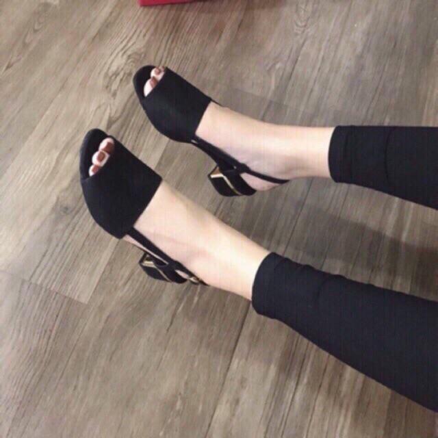 Sandal CK mõm vuông