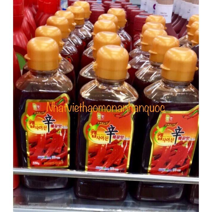 <HOT>Tinh dầu ớt capsaisin 550g làm mỳ cay cấp độ Hàn Quốc