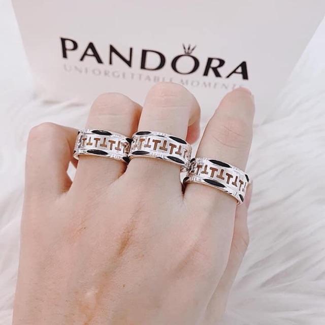 Nhẫn bạc lông voi nam
