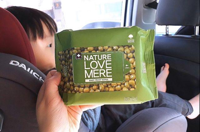 [Mã 267FMCGSALE giảm 8% đơn 500K] [CHÍNH HÃNG] Khăn ướt Nature Love Mere cao cấp kháng khuẩn ĐẬU XANH/ĐẬU ĐEN/KEO ONG