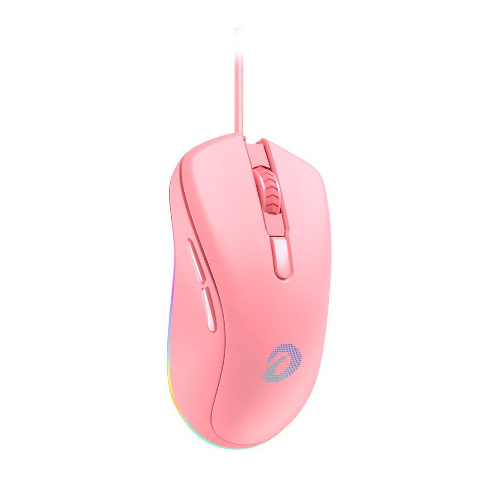 [Mã SKAMPUSHA7 giảm 8% đơn 250k]Chuột Dareu EM908 Pink Gaming (LED RGB, BRAVO sensor) Gaming -Mai Hoàng Phân Phối
