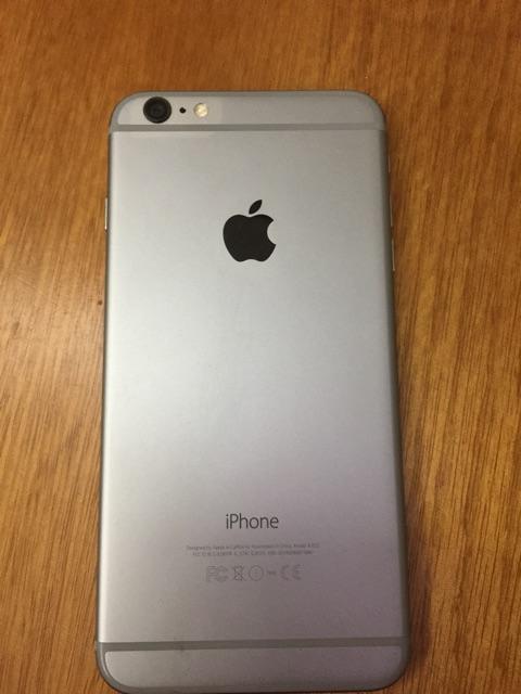 Bán điện thoại Apple 6plus(64gb) quốc tế ko vân tay mầu gray