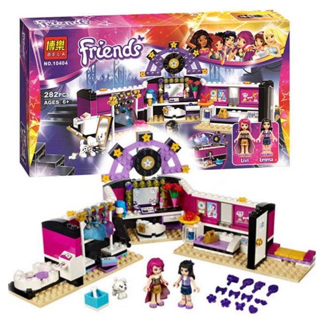 Lego friends 10404- Phòng thay đồ của siêu sao nhạc Pop