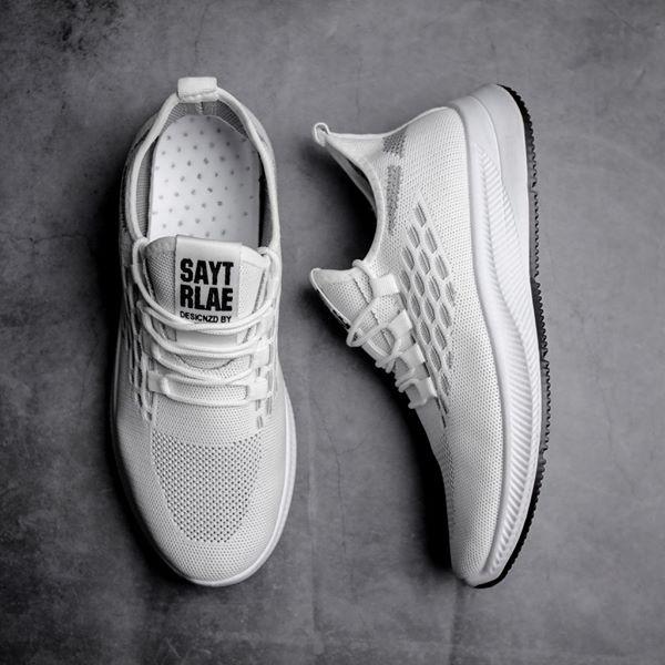 Giày sneaker nam - giày thể thao nam G1128 + tặng tất khử mùi 30k