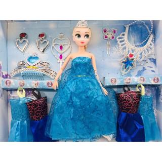 Búp bê Elsa tặng kèm nhiều phụ kiện No. 669