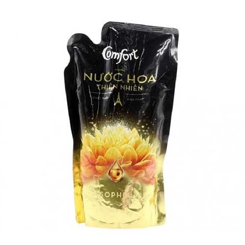Nước xả vải Comfort hương nước hoa thiên nhiên Sophia 750ml- Túi- Chính Hãng