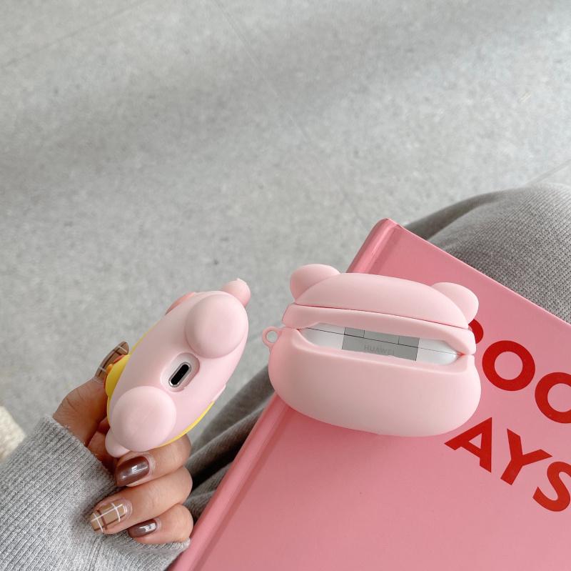 Ốp Lưng Mềm Chống Bụi In Hình Hoạt Hình Cho Huawei Freebuds 4i 3