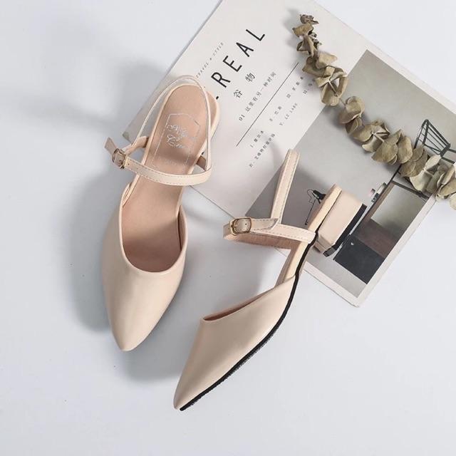 Order giày đế cao 3,5cm