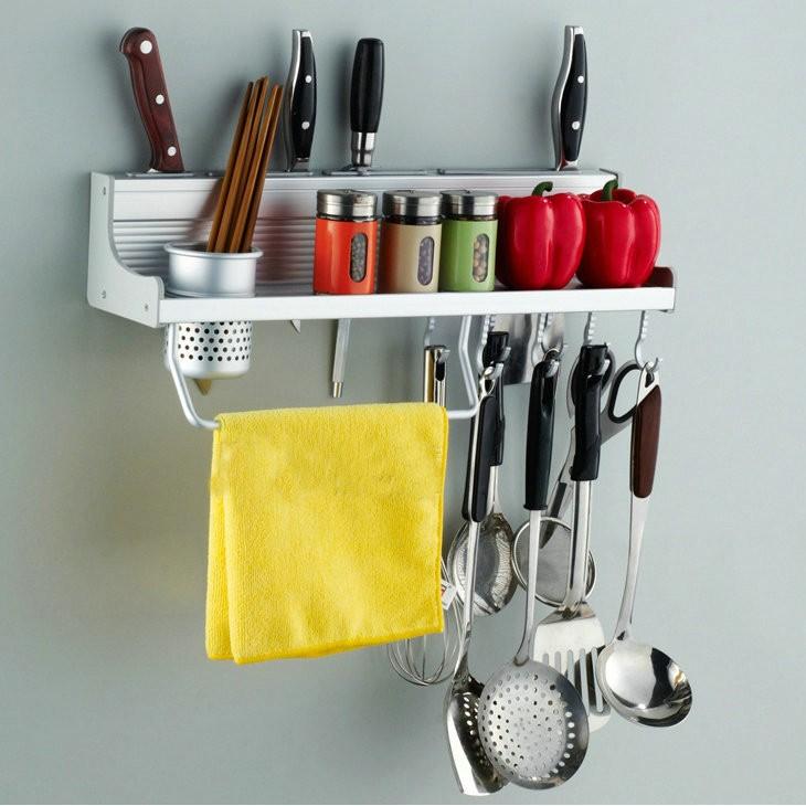 Giá treo đồ nhà bếp đa năng (Bạc) vrg007991803