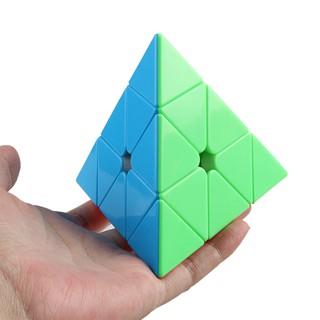 Rubik Tam Giác, Xoay trơn, Không rít, Độ bền cao – Rubik YJ Guanlong Stickerless. Rubik hình kim tự tháp.