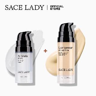 Bộ mỹ phẩm SACE LADY gồm kem lót và kem nền chống thấm nước12ml thumbnail