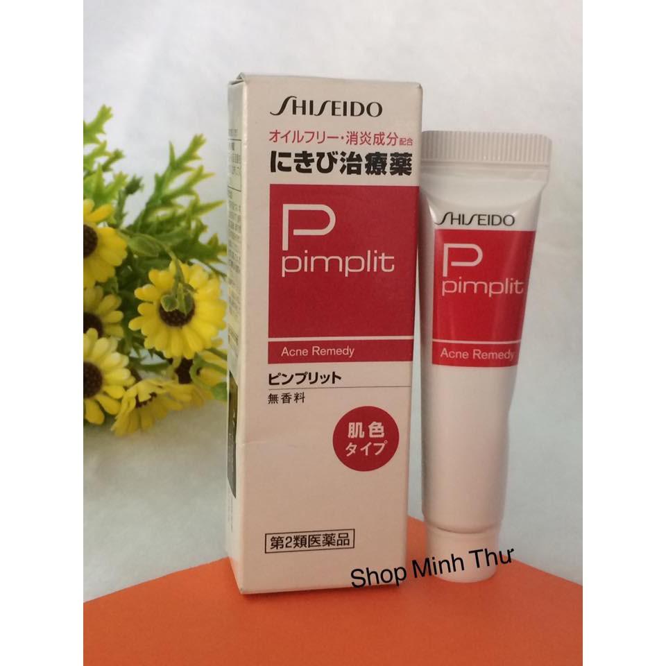 [CHÍNH HÃNG] Kem Trị Mụn Shiseido Pimplit 18g Nhật Bản - Nhãn Đỏ - Trị Mụn Bọc - 14566186 , 1416616078 , 322_1416616078 , 255000 , CHINH-HANG-Kem-Tri-Mun-Shiseido-Pimplit-18g-Nhat-Ban-Nhan-Do-Tri-Mun-Boc-322_1416616078 , shopee.vn , [CHÍNH HÃNG] Kem Trị Mụn Shiseido Pimplit 18g Nhật Bản - Nhãn Đỏ - Trị Mụn Bọc