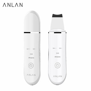 ANLAN Ultrasonic Skin Scrubber Face Cleansing Blackhead Removal Facial Vibration Massager Peeling thumbnail