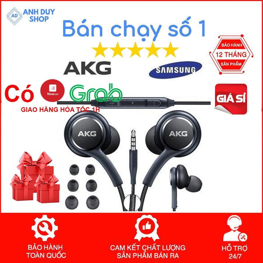 Tai nghe Samsung AKG S10 chính hãng S10 Plus S8, S9, Note 8, Note 9, S10+, Note 10 nguyên seal kèm 4 núm phụ