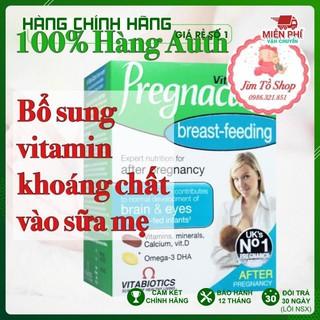 [100% Hàng Auth ] Vitamin Pregnacare Breast feeding Viên Uống Lợi Sữa Bổ Sung Vitamin Tổng Hợp Sau Sinh thumbnail
