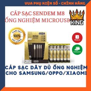 Cáp sạc Sendem M8 ống nghiệm - Cáp Android thumbnail
