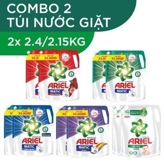 """Combo 2 túi nước giặt Ariel Matic 2.15kg/ 2.4kgx2 giá chỉ còn <strong class=""""price"""">20.900.000.000đ</strong>"""