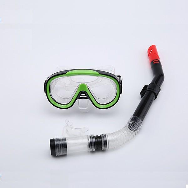 Kính lặn, mặt nạ lặn gồm Ống thở SPORT (trên 10 tuổi), chất liệu cao cấp POPO Sports