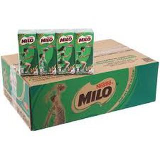 Thùng sữa Milo có đường hộp 180ml (48 hộp /thùng )