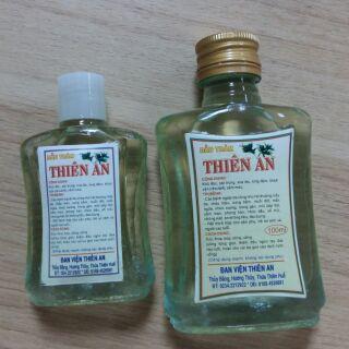 Combo 20 chai lớn 100ml dầu tràm Thiên An cho khách sĩ