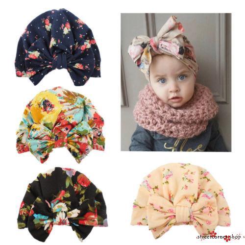 Mũ vải cotton in hoa phối nơ kiểu dáng đáng yêu thời trang mùa đông dành cho bé - 22619837 , 2726012850 , 322_2726012850 , 32007 , Mu-vai-cotton-in-hoa-phoi-no-kieu-dang-dang-yeu-thoi-trang-mua-dong-danh-cho-be-322_2726012850 , shopee.vn , Mũ vải cotton in hoa phối nơ kiểu dáng đáng yêu thời trang mùa đông dành cho bé