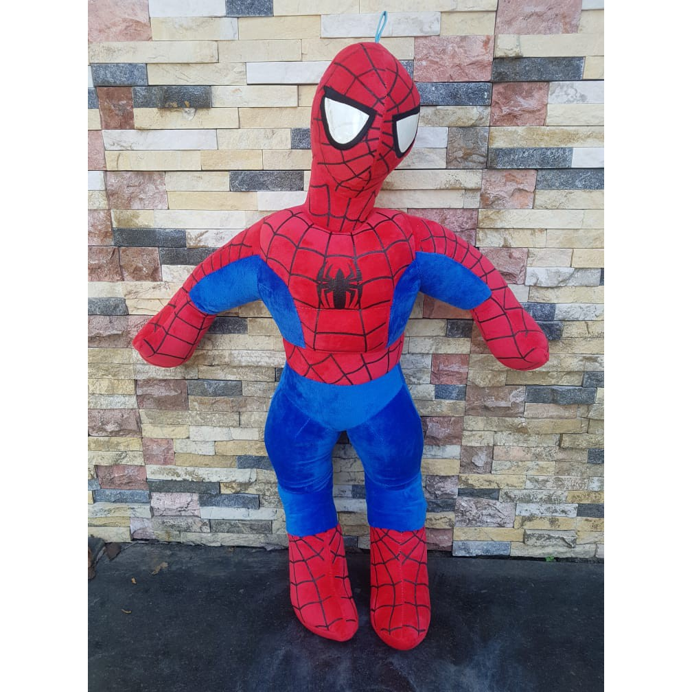 [ẢNH THẬT] Gấu bông Spiderman cao 85cm chất lượng xuất khẩu