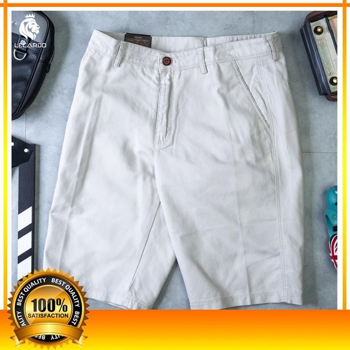 [VNXK - LQSKK19-02&19-03] Quần Short Nam Kaki - Quần Đùi Nam Kaki Chất liệu Cotton co giãn, mềm nhẹ, thấm hút