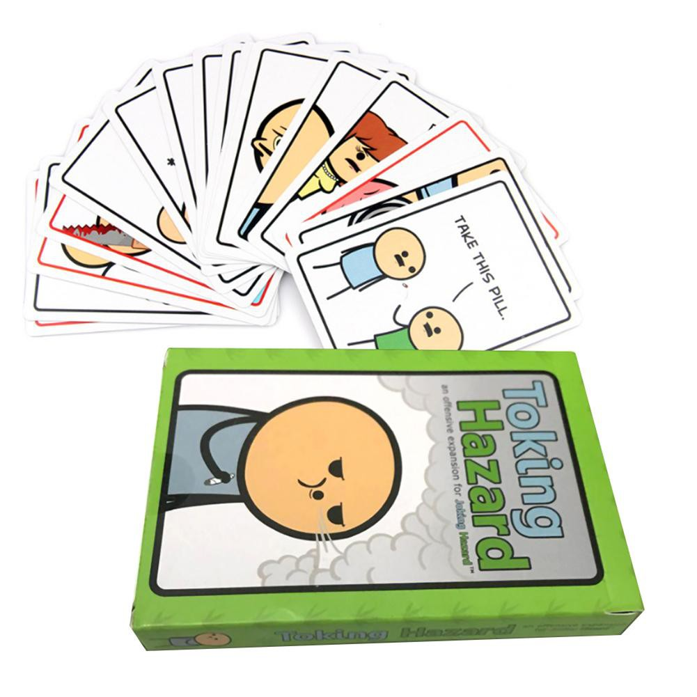 Toking Hazard English Cards Multiplayers Adult Kids Party Board Table Games