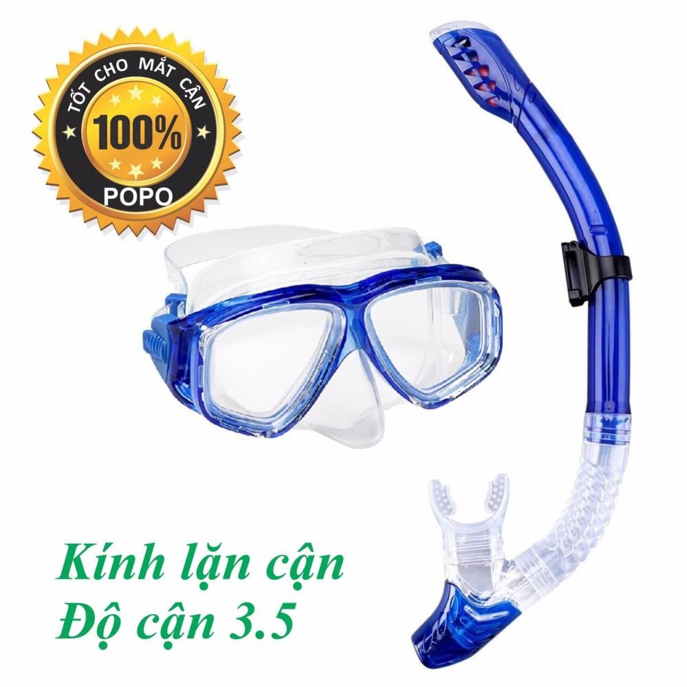 Mặt nạ lặn Ống thở, CẬN 3.5 độ, mắt KÍNH CƯỜNG LỰC - ống thở ngăn nước POPO Collection (Xanh Biển) - 3049660 , 1247958520 , 322_1247958520 , 727000 , Mat-na-lan-Ong-tho-CAN-3.5-do-mat-KINH-CUONG-LUC-ong-tho-ngan-nuoc-POPO-Collection-Xanh-Bien-322_1247958520 , shopee.vn , Mặt nạ lặn Ống thở, CẬN 3.5 độ, mắt KÍNH CƯỜNG LỰC - ống thở ngăn nước POPO Col