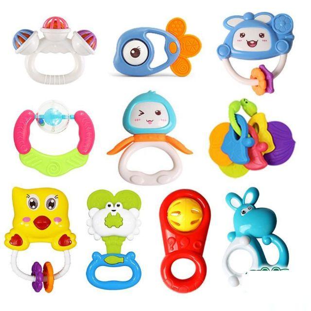 (Chính hãng) 10 món đồ chơi xúc xắc Toys House 776-16