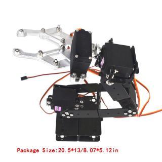 YOUN* Manipulator 6 DOF Mechanical Robot Arm DIY Rotation Servo Motor Metal Gear