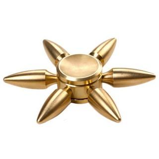 Con Quay Molecule Spinner Brass – Hình 6 Cánh Nhọn Xđộc đáo