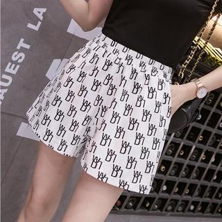 👖👖2021 Summer Fashion Shorts Women's Trend Loose Thin Hot Pants High Waist Casual Pants👖👖