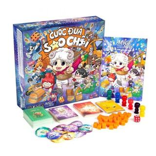 Boardgame Cuộc Đua Sao Chổi (tặng kèm bọc bài full)